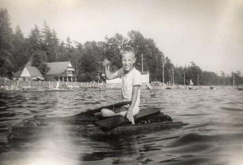 Survival raft in Washington State