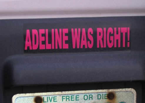 adelinewasright