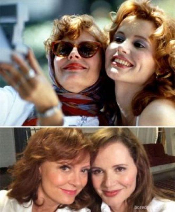 Thelma and Louise Antes e Depois