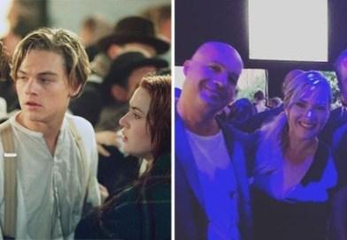 Antes e Depois Titanic