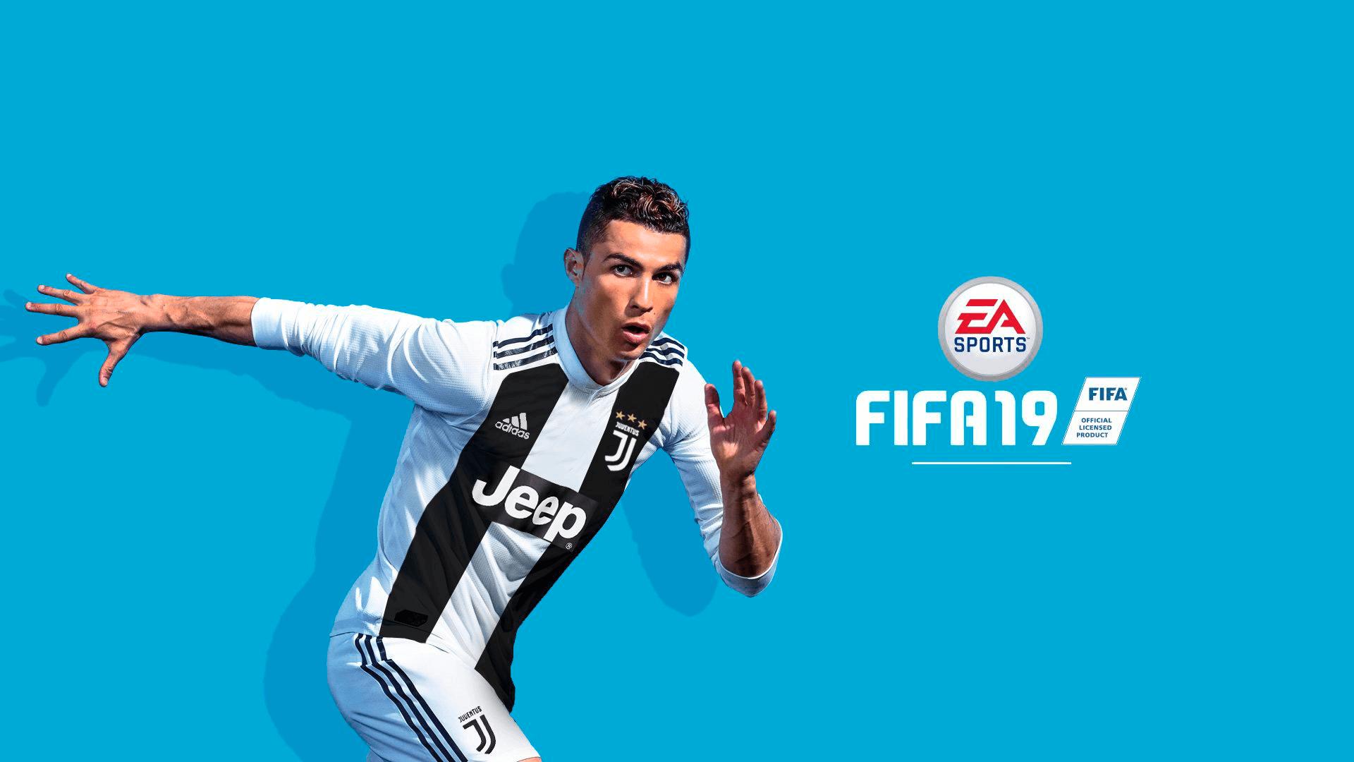 Agora Com A Camisa Da Juventus Cristiano Ronaldo Aparece Na Capa De FIFA 19