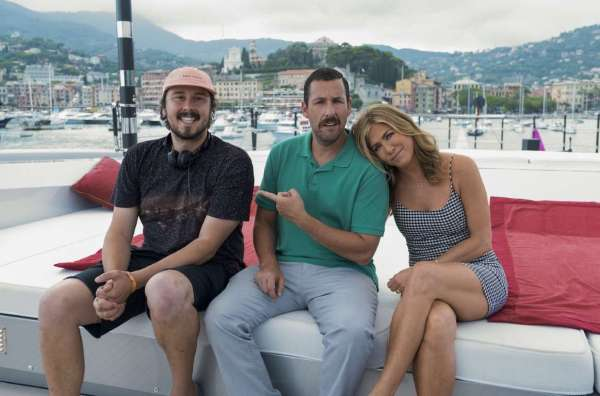 Adam Sandler e Jennifer Anniston em Murder Mistery Divulgação NETFLIX 3