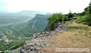 Вид с западного склона горы Тепе-Кермен. Автор фото Алексей Коппа