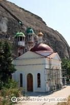 Инкерманский Свято-Климентовский пещерный мужской монастырь. Автор фото Ольга Иутина