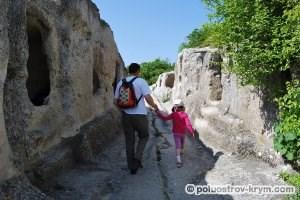 Пещерный город Эски-Кермен. Фото Ольги Иутиной