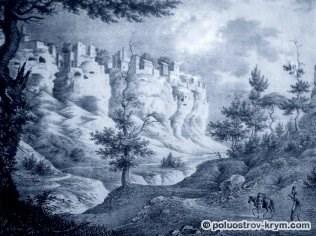 Пещерный город Чуфут-Кале. Середина 19 века
