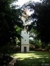 Torre del reloj en la iglesia de San Cristóbal.