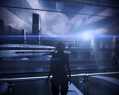 My name is Commander Shepard and I approve of this view.