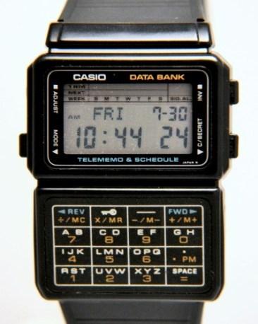 Casio Databank.