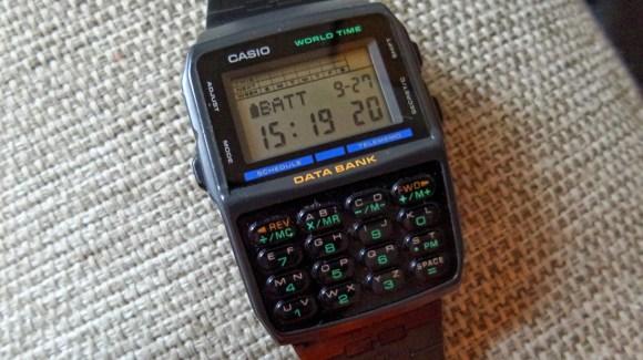 90s vintage Casio Databank.