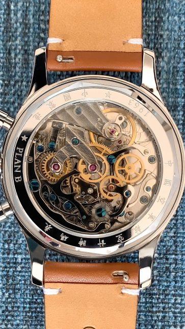 A column wheel chronograph!