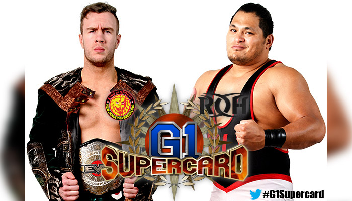Will Ospreay vs Jeff Cobb G1 SuperCard