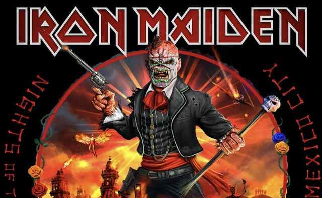 Iron Maiden - Night of the Dead portada