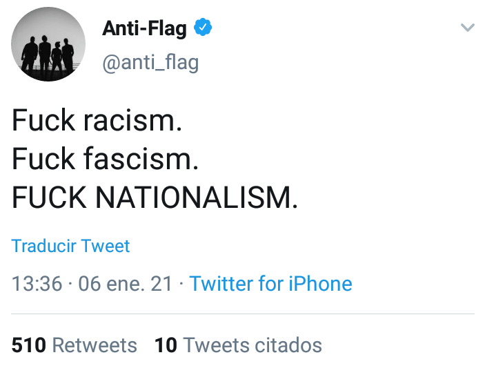 Anti Flag Capitolio