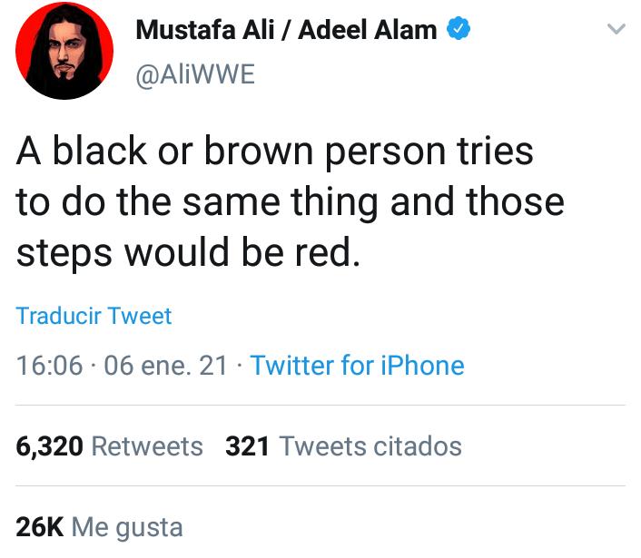 Mustafa Ali Capitolio