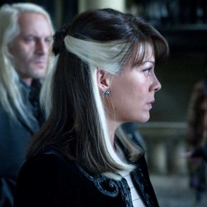 Helen McCrory como Narcissa Malfoy