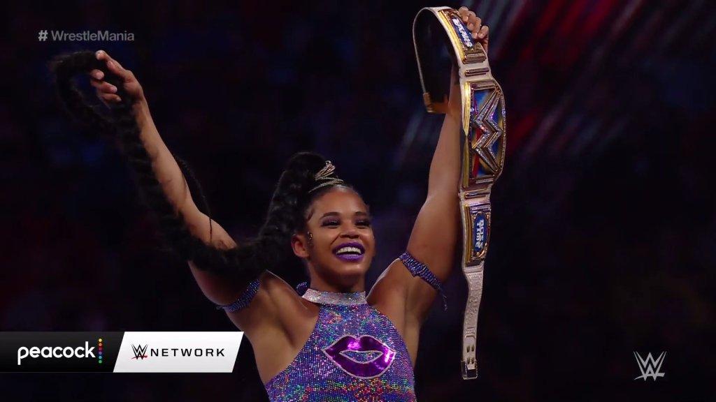 Bianca Belar en Wrestlemania / WWE