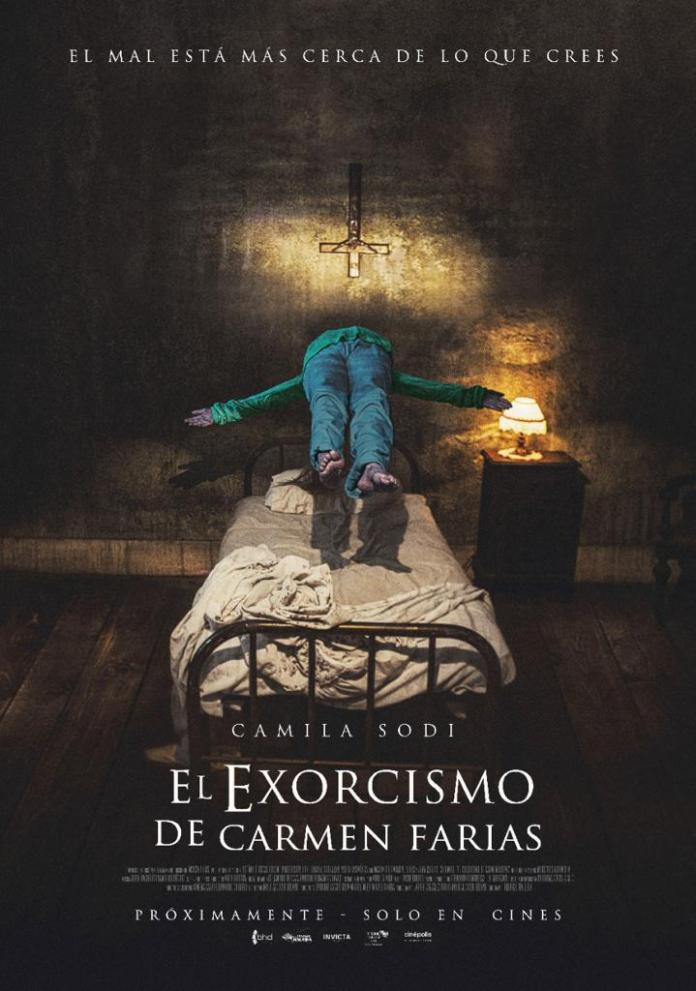 El exorcismo de Carmen Farías póster