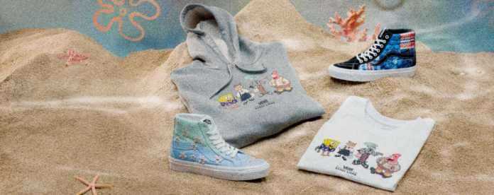 Colección Vans x SpongeBob SquarePants