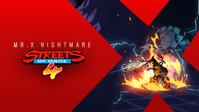 Streets of Rage 4 Mr. X Nightmare review