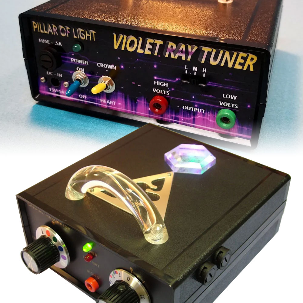 Service - Violet Ray Machine and Crystal Resonator