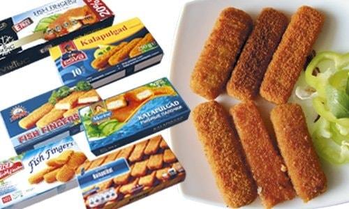 Упаковка рыбной продукции (палочки) в г. Реково Гурне (Гданьск)