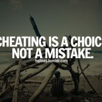 When Is It Cheating?