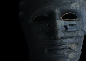 grey full-face mask