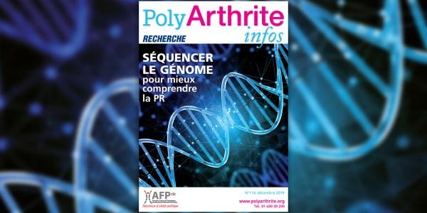 Le dernier numéro de PolyArthrite infos consacré à la recherche