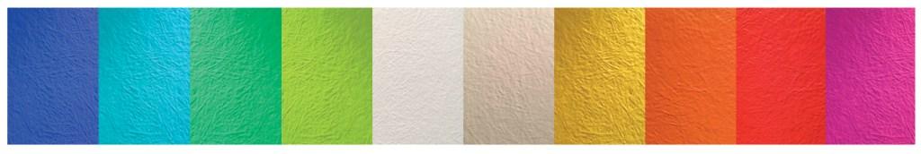 kleurenwaaier polyester