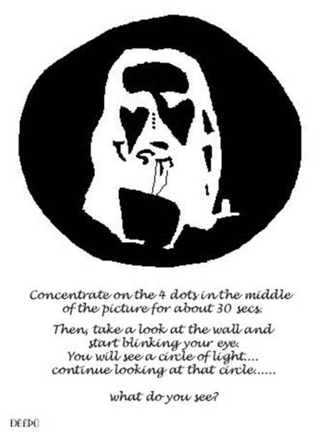 optical illusion jesus