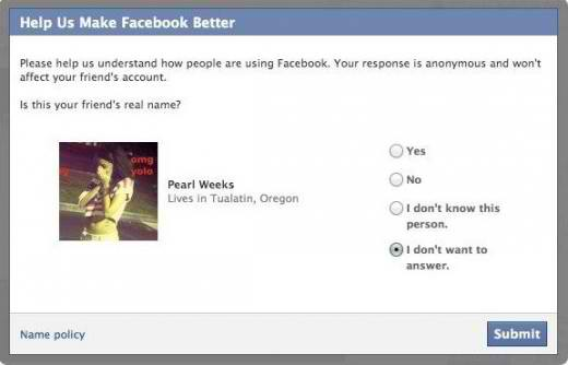 facebook anonymity