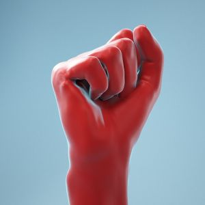 Fist Realistic Hand