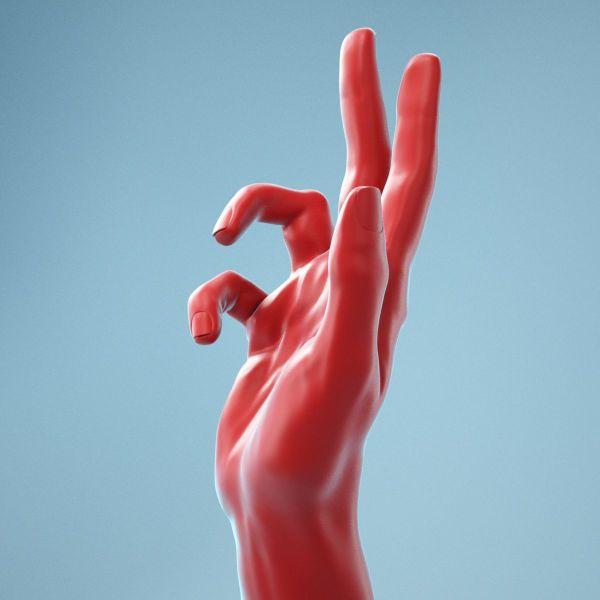 Holistic Gesture Realistic Hand