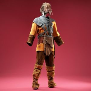 Forest Creep wearing Mask Cosplay Costume