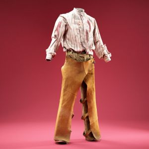 Horror Cowboy Costume Shirt and Chaps