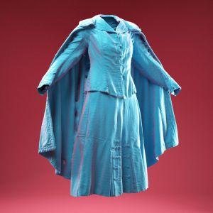 Vintage Dress and Cape