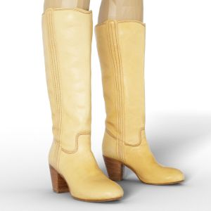 Vintage Boot Beige