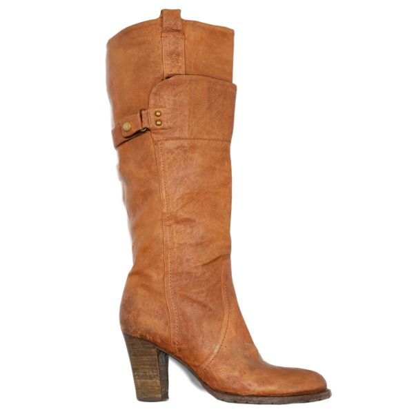Vintage Boot Brown Leather