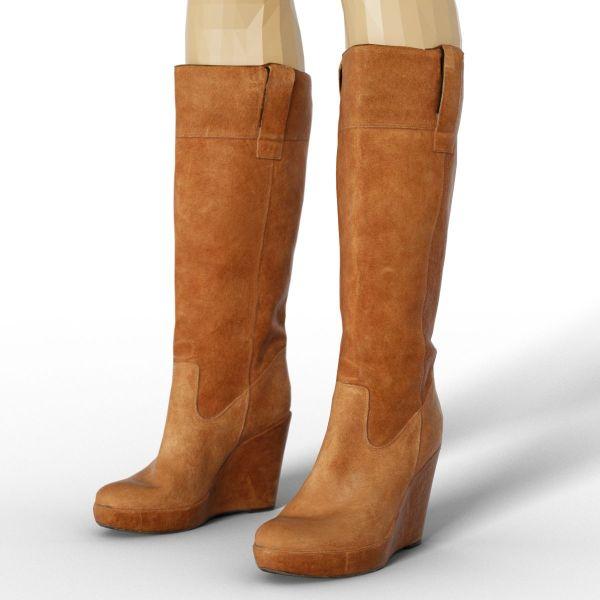 Vintage Boot Brown Sleeve