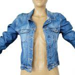 Vintage Jacket Dark Blue Jeans