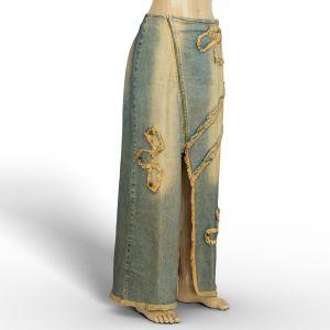 Vintage Skirt Long Jeans