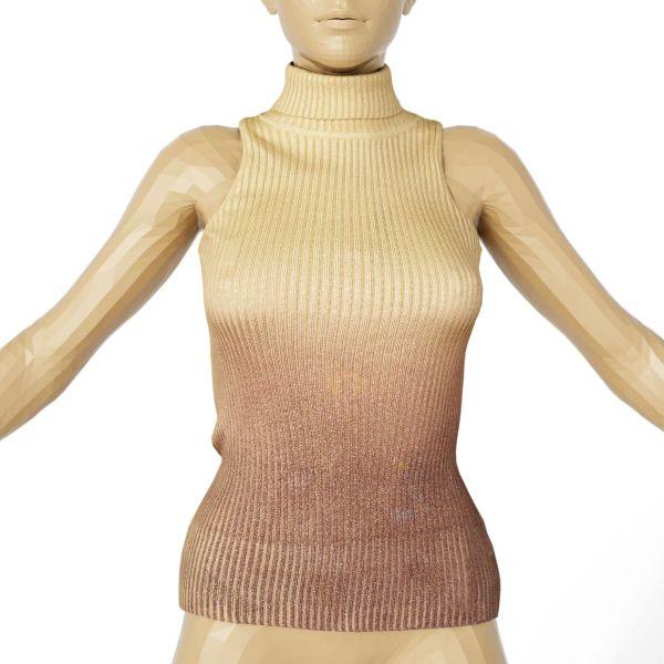 Vintage Top Wool Gold