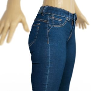 Vintage Trousers Jeans Blue