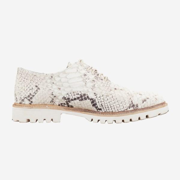 Snake Pattern Casual Sneaker Shoe