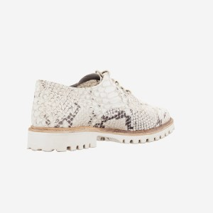 Snake Pattern Casual Sneaker Shoe