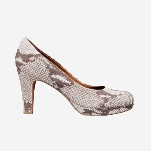 Snake Pattern Pumps