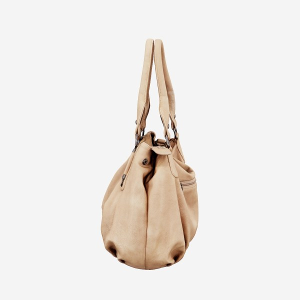 Light Brown Leather Handbag