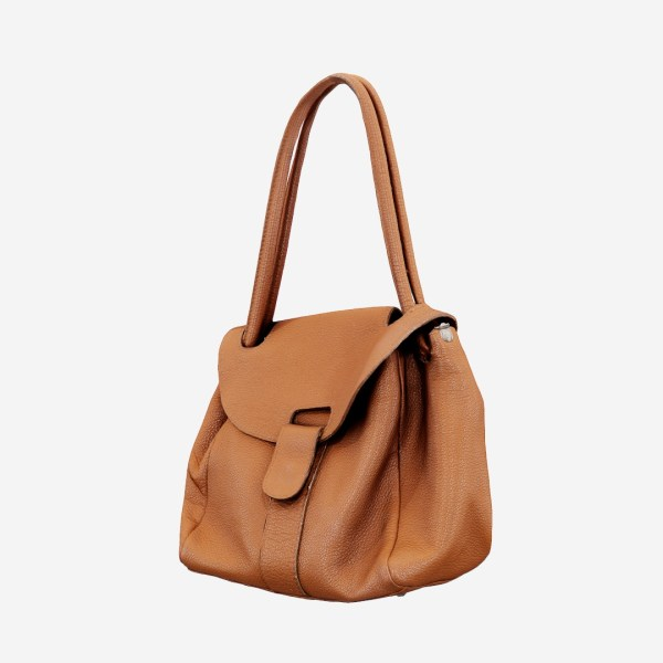 Mini Brown Leather Handbag