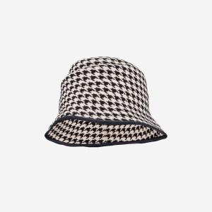 Houndstooth Hat